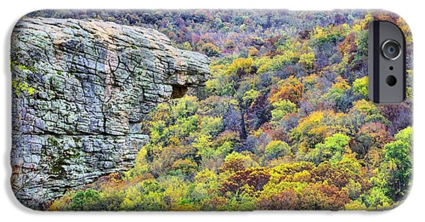 Hawksbill Crag Colors IPhone Case by JC Findley