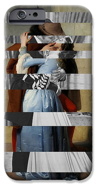 Hayes's The Kiss And Vivien Leigh With Clark Gable IPhone 6s Case by Luigi Tarini