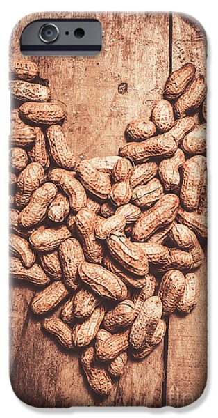 Heart Health And Nuts IPhone Case by Jorgo Photography - Wall Art Gallery