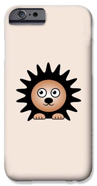 Hedgehog - Animals - Art For Kids IPhone 6s Case by Anastasiya Malakhova
