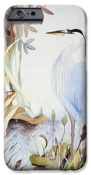 Heron IPhone Case by Rachel Osteyee