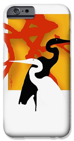 Herons  IPhone 6s Case by Bob Salo