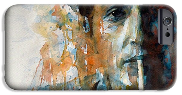 Hey Mr Tambourine Man @ Full Composition IPhone 6s Case by Paul Lovering