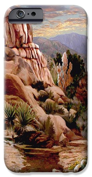 Hidden Valley Trail IPhone Case by Ron Chambers