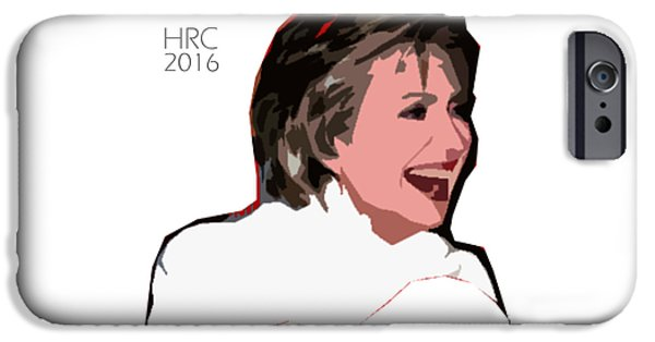 Hillary 2016 IPhone Case by Philip Butta