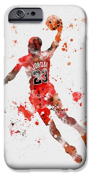 His Airness IPhone Case by Rebecca Jenkins