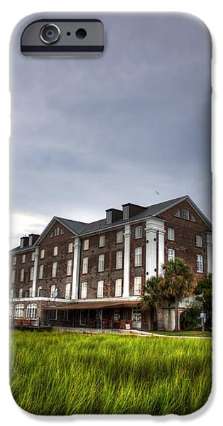 Historic Rice Mill Building IPhone Case by Dustin K Ryan
