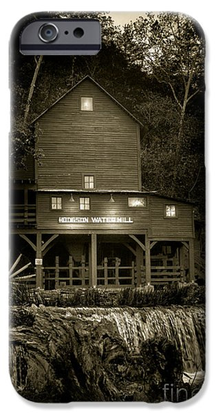 Hodgson Gristmill IPhone Case by Robert Frederick