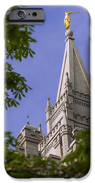 Holy Temple IPhone Case by Chad Dutson