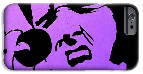 Homage To Elvis IPhone Case by John  Nolan