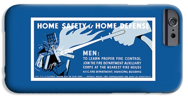 Home Safety Is Home Defense IPhone Case by War Is Hell Store