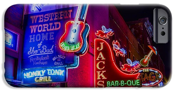 Honky Tonk Broadway IPhone 6s Case by Stephen Stookey