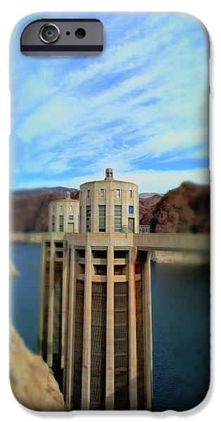 Hoover Dam Intake Towers No. 1 IPhone 6s Case by Sandy Taylor