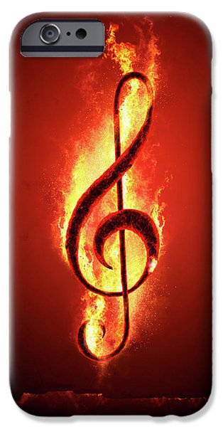 Hot Music IPhone Case by Johan Swanepoel