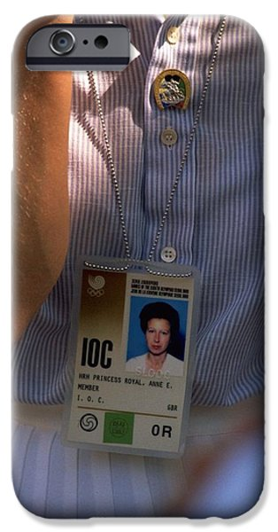 Hrh Princess Royal In Seoul IPhone Case by Travel Pics