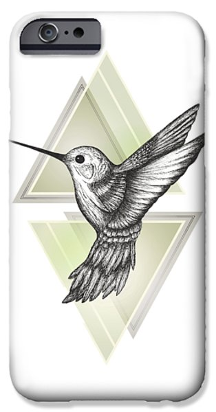 Hummingbird IPhone 6s Case by Barlena