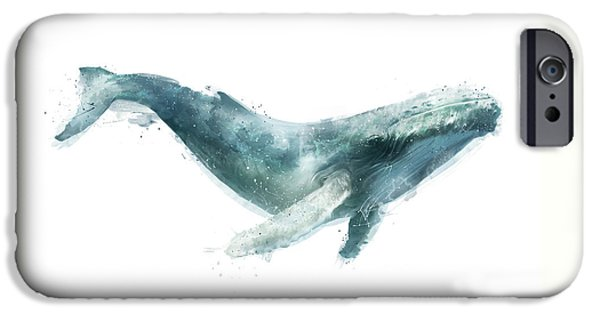 Humpback Whale From Whales Chart IPhone 6s Case by Amy Hamilton