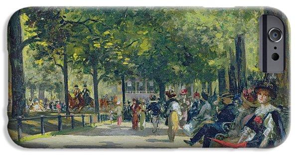 Hyde Park - London  IPhone 6s Case by Count Girolamo Pieri Nerli