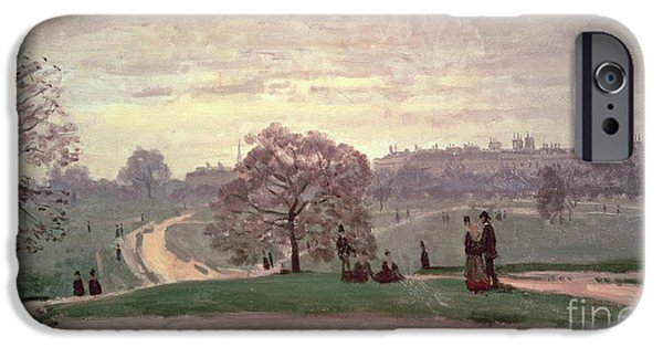 Hyde Park IPhone 6s Case by Claude Monet