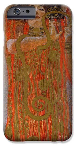Hygieia IPhone Case by Gustav Klimt