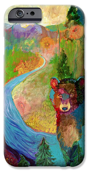 I Am The Mountain Stream IPhone Case by Jennifer Lommers