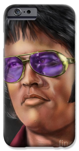 I Remember Elvis IPhone Case by Reggie Duffie
