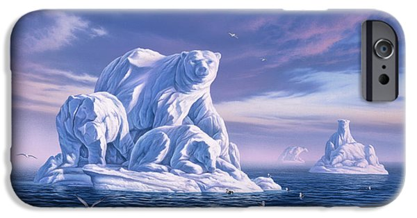 Icebeargs IPhone Case by Jerry LoFaro