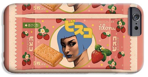Idoru Sweets IPhone Case by Udo Linke
