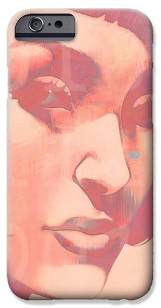 Idoru IPhone Case by Udo Linke