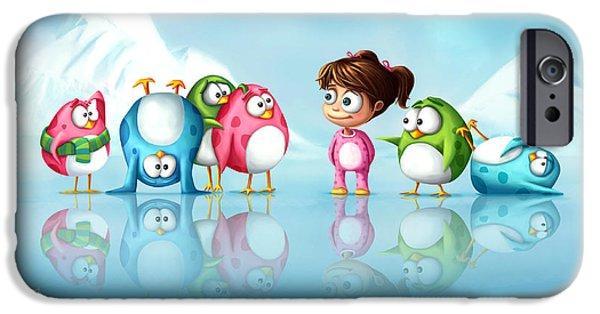 Im A Penguin Too IPhone 6s Case by Tooshtoosh