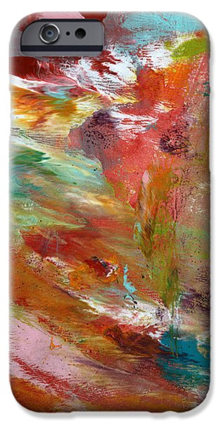 In My Dreams- Abstract Art By Linda Woods IPhone Case by Linda Woods