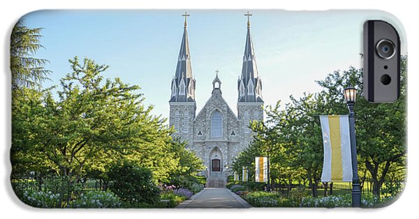 In The Spring At Villanova IPhone Case by Bill Cannon