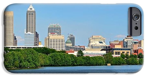 Indy Panoramic IPhone Case by Frozen in Time Fine Art Photography