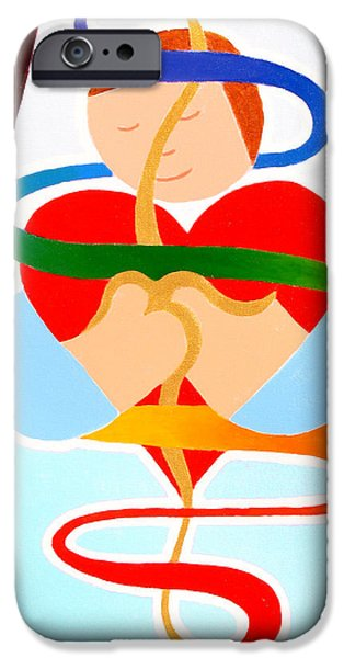 Inner Peace IPhone Case by Jaison Cianelli