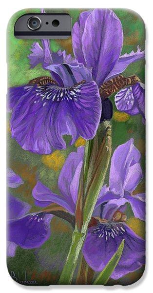 Irises IPhone 6s Case by Lucie Bilodeau