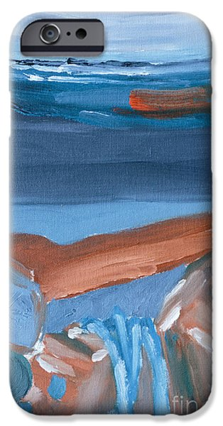 Iron Still Life Abstract Oil Painting IPhone Case by Caffrey Fielding