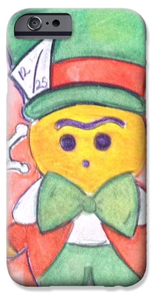 It's A Mad Christmas IPhone Case by Regina Jeffers