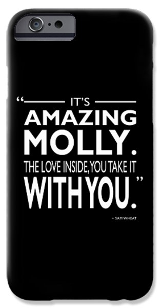 Its Amazing Molly IPhone Case by Mark Rogan