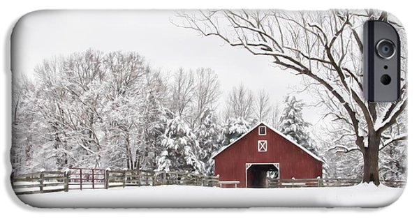 It's Snow Mesmerizing IPhone Case by Benanne Stiens