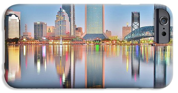 Jacksonville Reflecting IPhone Case by Frozen in Time Fine Art Photography