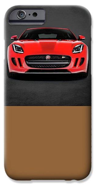 Jaguar F Type IPhone Case by Mark Rogan