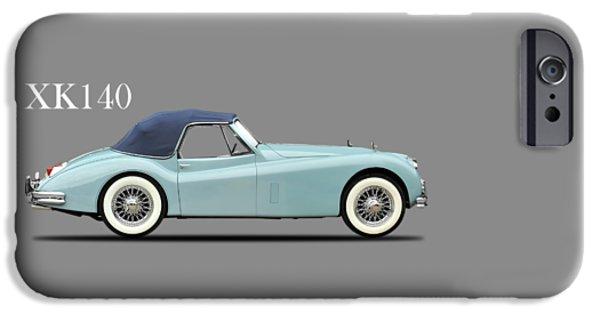 Jaguar Xk140 IPhone Case by Mark Rogan
