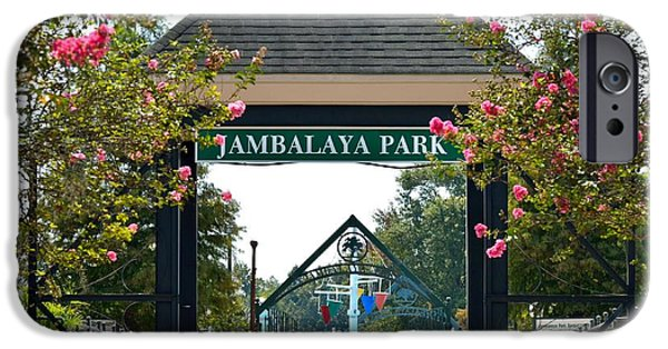 Jambalaya Park In Gonzales Louisiana IPhone Case by D S Images