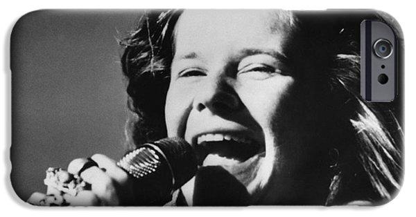 Janis Joplin (1943-1970) IPhone Case by Granger
