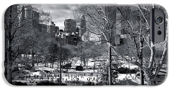 January In Central Park IPhone 6s Case by John Rizzuto