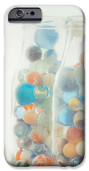 Jars Full Of Marbles IPhone Case by Edward Fielding