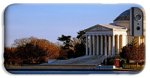 Jefferson Memorial Sunset IPhone 6s Case by Olivier Le Queinec