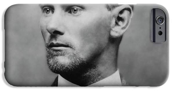 Jesse James -- American Outlaw IPhone Case by Daniel Hagerman