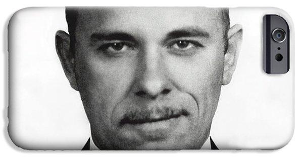 John Dillinger - Bank Robber And Gang Leader IPhone Case by Daniel Hagerman