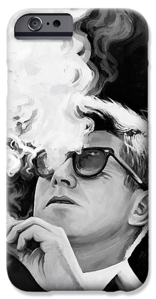 John F. Kennedy Artwork 1 IPhone Case by Sheraz A